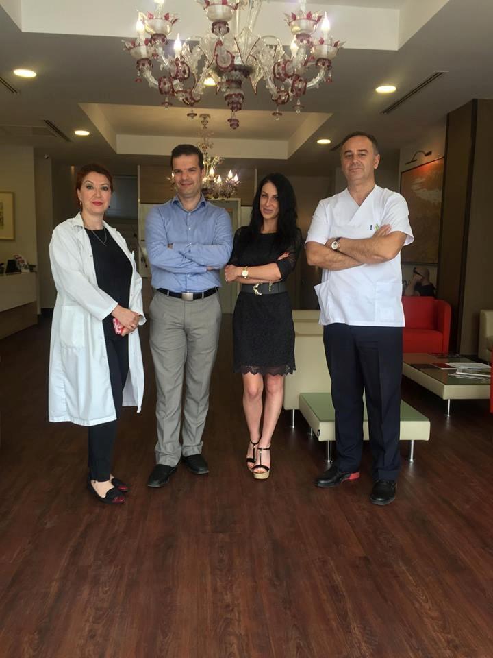 Dr. Vlasis Ninios, Kardiolog intervent dhe MitraClip vizitoi MEDICA Istanbul Tetovë -