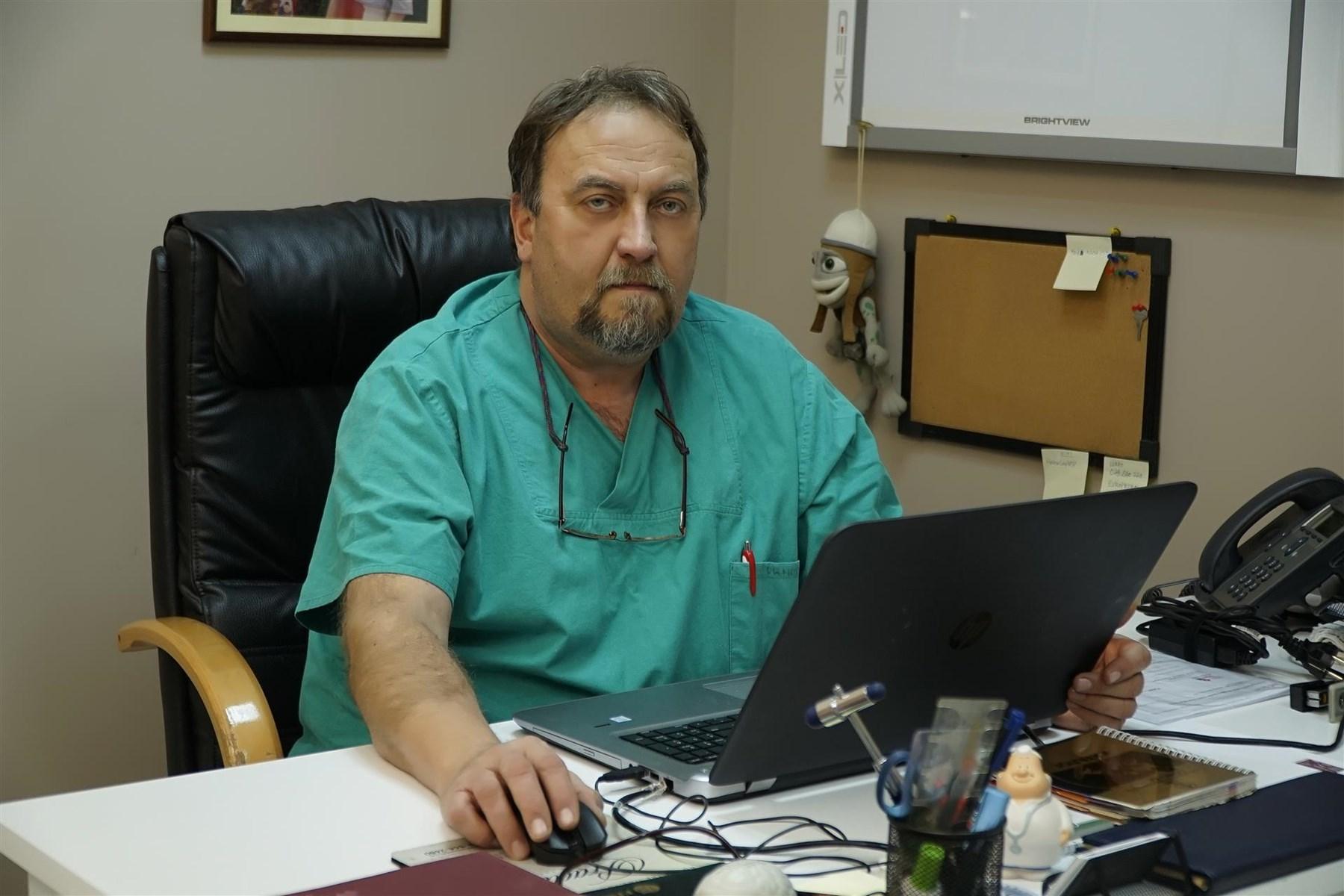Прим.Д-р Тодор Ношпал М-р Сци. - Ортопедски хирург