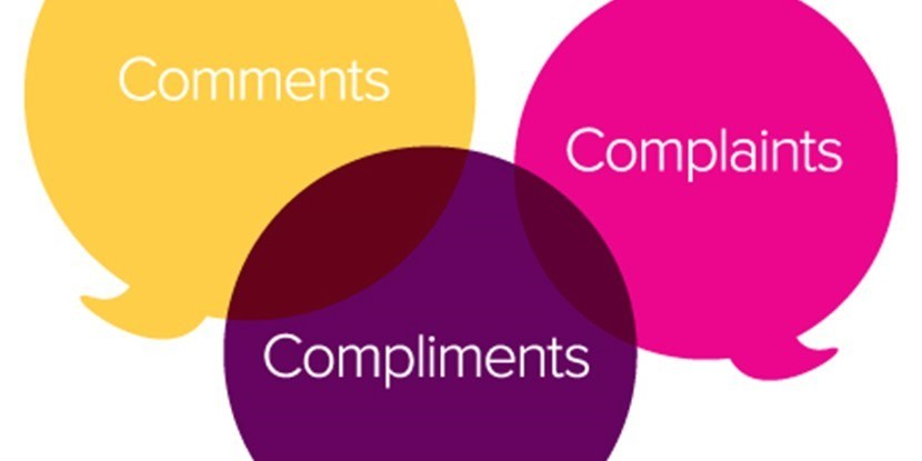 Compliments, Concerns and Complaints